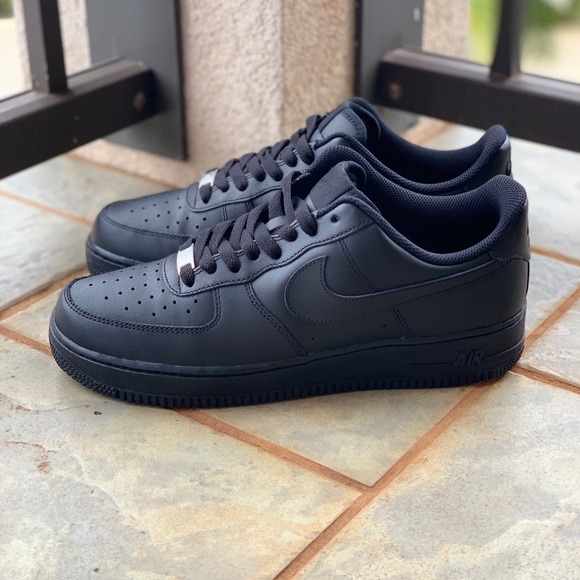 the best attitude fa423 e9563 Black AF1 Low
